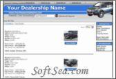 e Dealer Design Dealership Website Software Screenshot