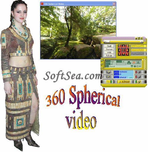 360 Spherical Panorama Video Viewer Screenshot