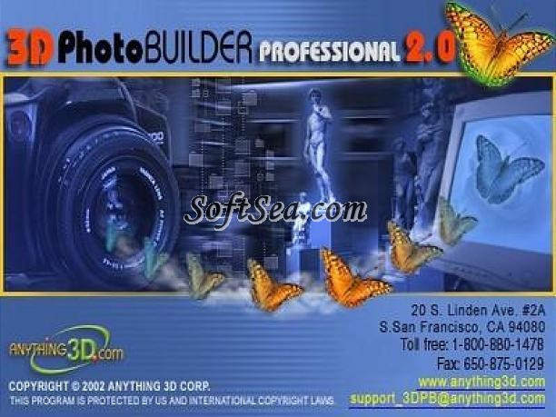 3D Photo Builder Professional Screenshot