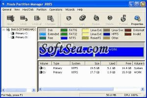 7tools Partition Manager Screenshot