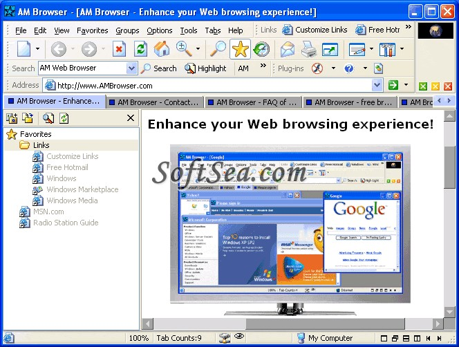 AM Browser Screenshot