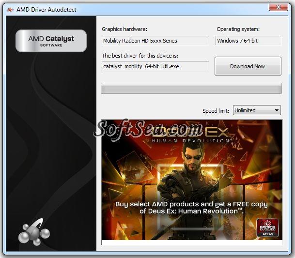 AMD Driver Autodetect Screenshot