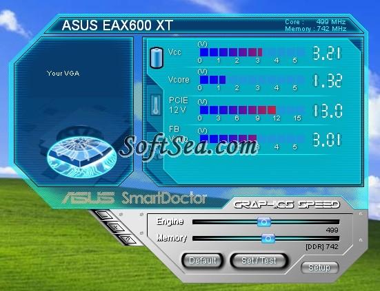 ASUS SmartDoctor Screenshot