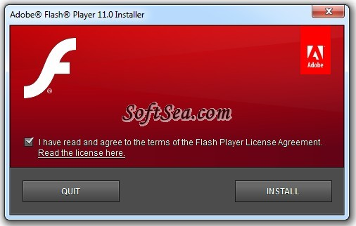 Adobe Flash Player (64-bit) Screenshot
