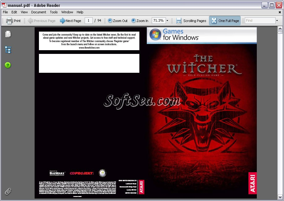 Adobe Reader Lite Screenshot