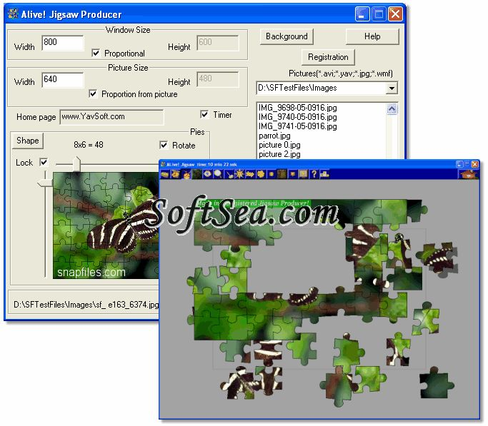 Alive! Jigsaw Producer Screenshot