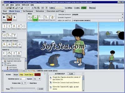 Animoids 3D Movie Maker Screenshot
