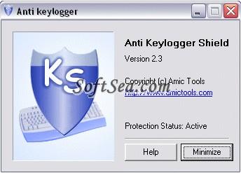 Anti Keylogger Shield Screenshot