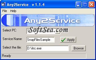 Any2Service Screenshot