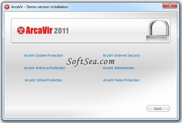 ArcaVir Home Protection (32-bit) Screenshot