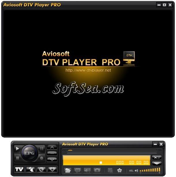 Aviosoft DTV Player Pro Screenshot