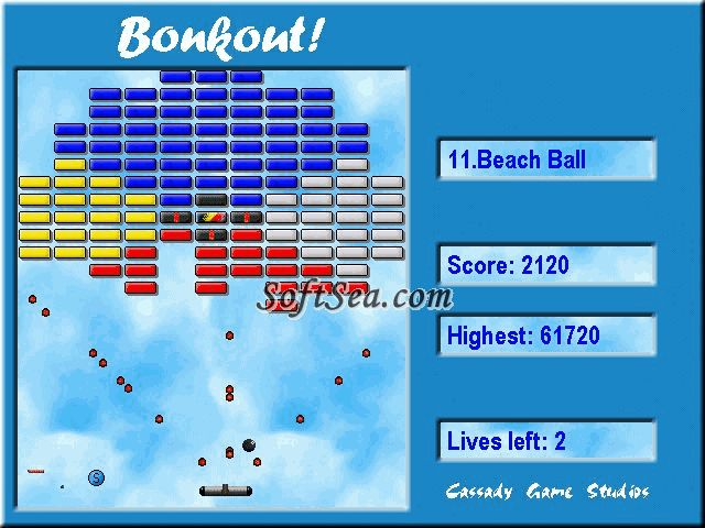 Bonkout Free Screenshot