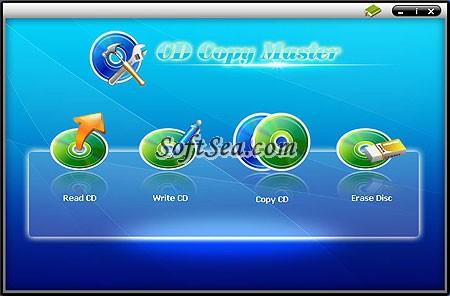 CD Copy Master Screenshot