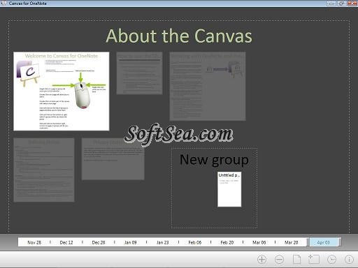 Canvas for OneNote Screenshot
