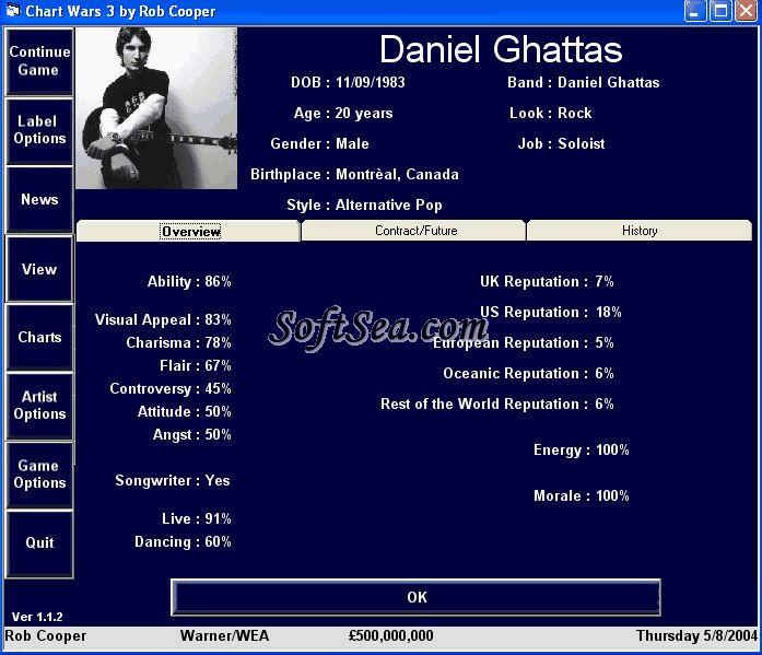 Chart Wars 3 Screenshot