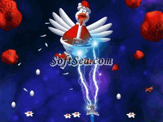 Chicken Invaders 3 Christmas Edition Screenshot