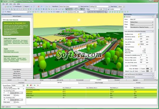 CityCAD Screenshot