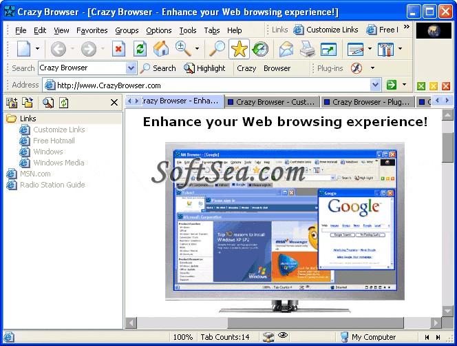 Crazy Browser Screenshot