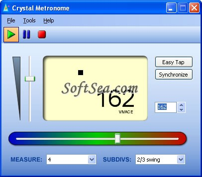 Crystal Metronome Screenshot