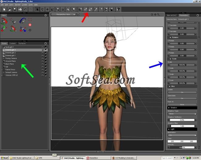DAZ Studio Screenshot