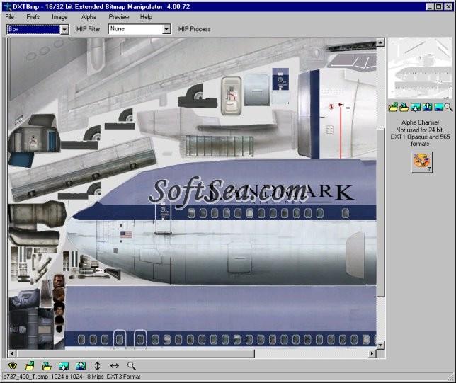 DXTBmp Screenshot