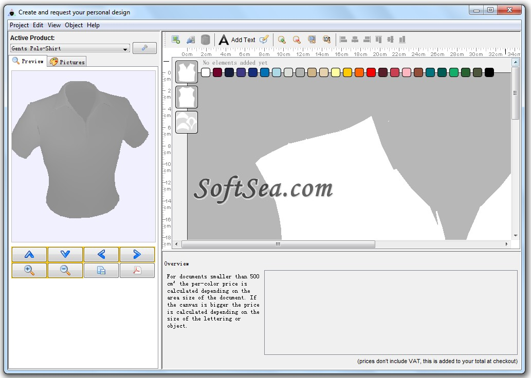 Designer Pro Apparel Edition Screenshot