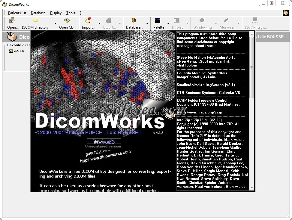 DicomWorks Screenshot