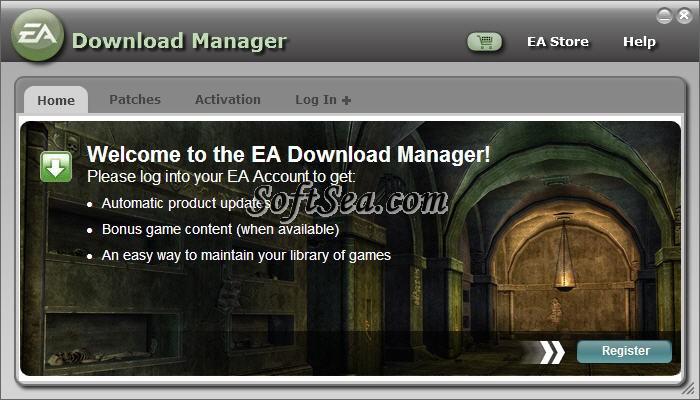 EA Download Manager Screenshot
