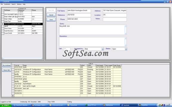 EasyDesk Helpdesk Screenshot
