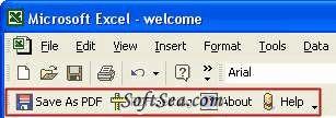 Excel to PDF Converter Screenshot