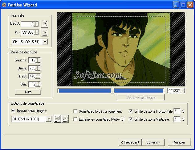 FairUse Wizard Screenshot