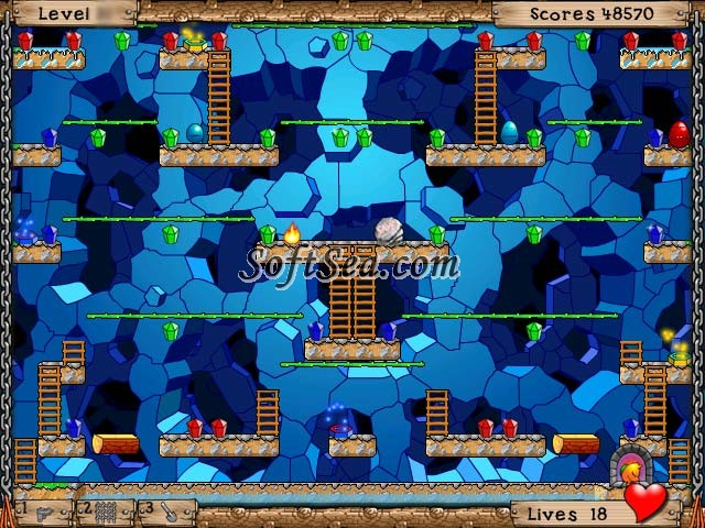 Fatman Adventures 2: Underground Adventures Screenshot
