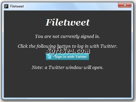 Filetweet Screenshot