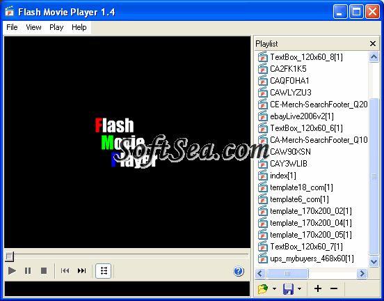 Flash Movie Player Swf