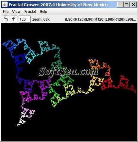 Fractal Grower Screenshot