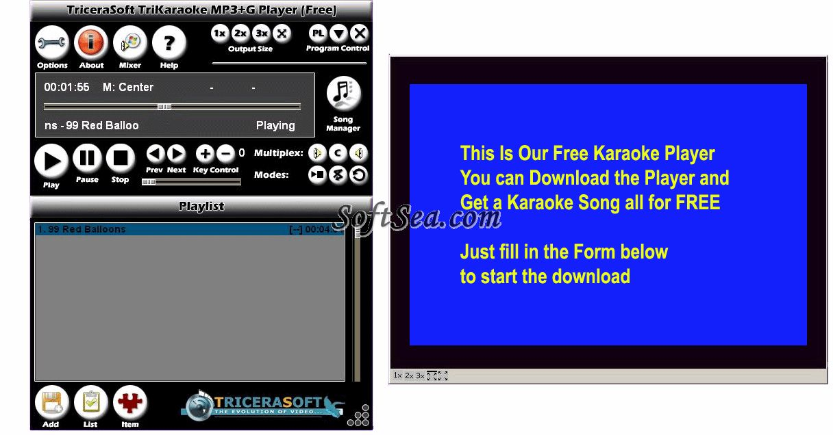 Download Software Karaoke Video Player