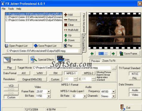 Fx Joiner and Splitter Screenshot