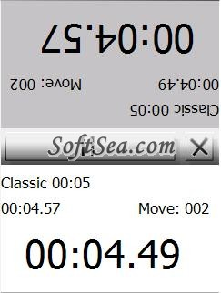 Go Chess Clock Screenshot