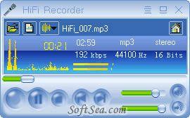 HiFi Recorder Screenshot
