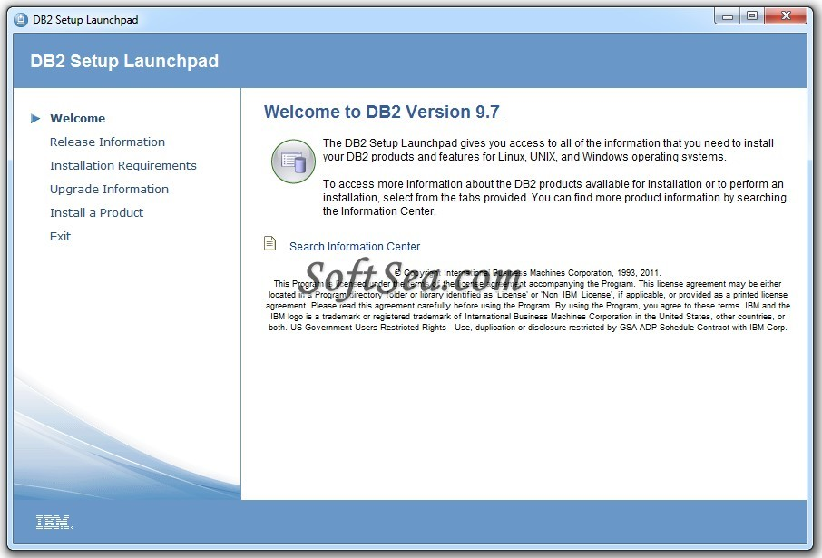 IBM DB2 Express-C Screenshot