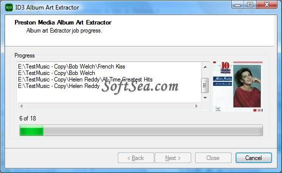 ID3 Album Art Extractor Screenshot