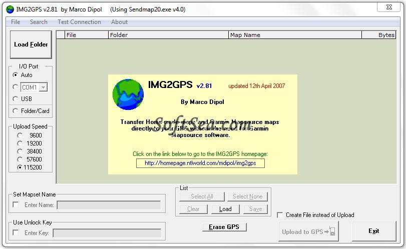 IMG2GPS Screenshot