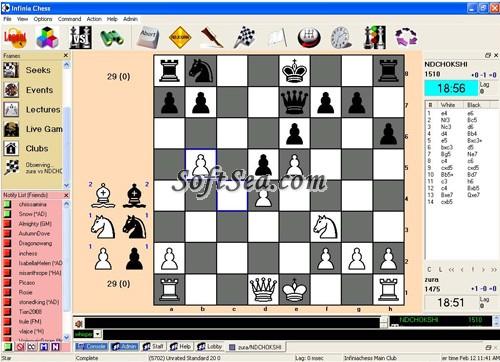 Infinia Chess Screenshot