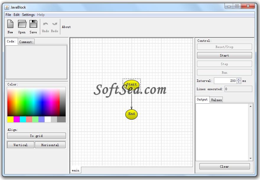 JavaBlock Screenshot