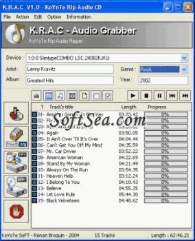 K.R.A.C. Screenshot