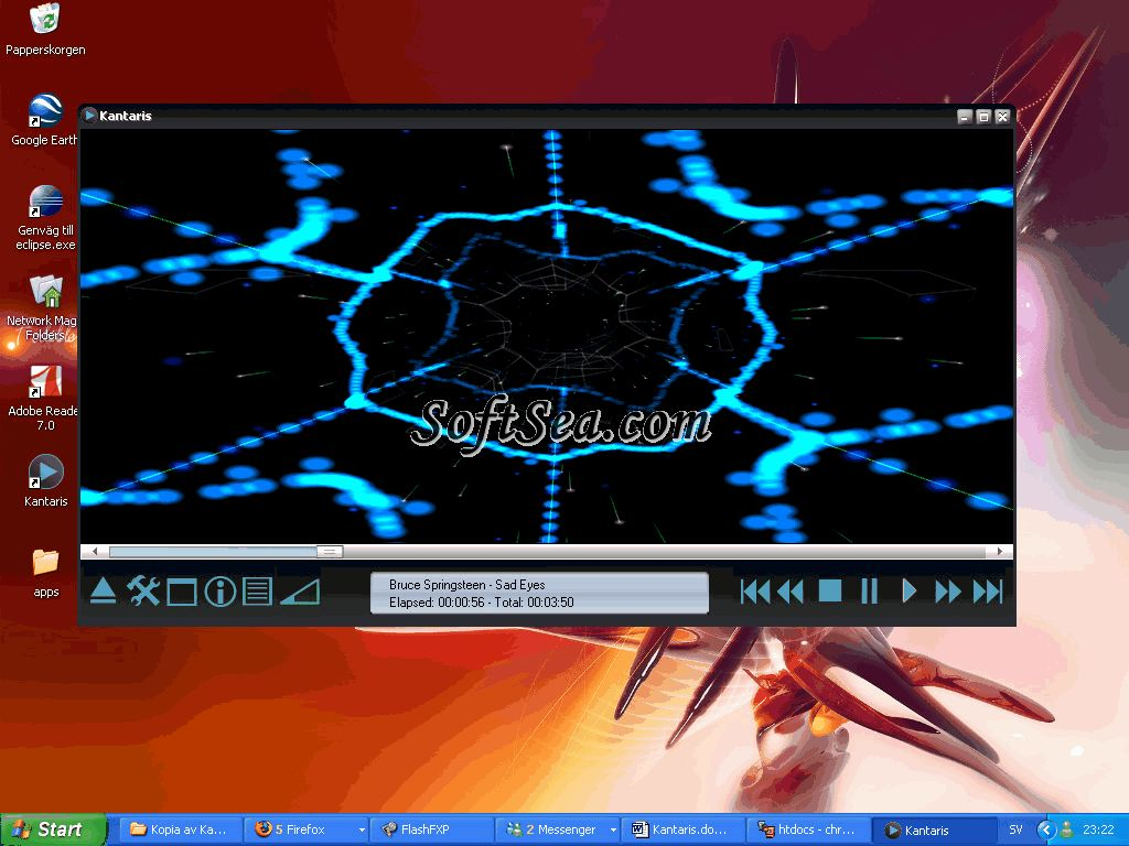 Kantaris Media Player Screenshot