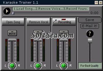 Karaoke Trainer Screenshot