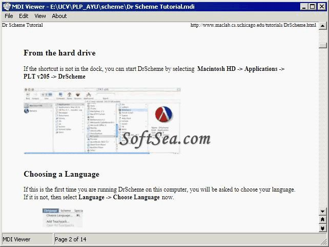 MDI Viewer for Microsoft Office Screenshot
