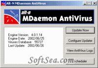 MDaemon AntiVirus Screenshot
