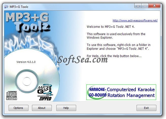 MP3+G Toolz Screenshot